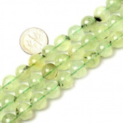 Sweet & Happy Girl'S Store Round Gemstone Green Peridot Beads Strand 38cm Jewellery Making Beads