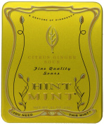 Hint Mint Classic Designer Mints, 35ml Tin, Citrus Ginger Sour