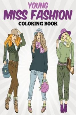 Young Miss Fashion Coloring Book PDF Free Download