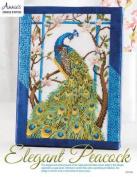 Elegant Peacock Cross Stitch Pattern