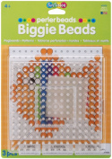Perler Beads Clear Large Square Biggie Bead Pegboard 2 Pack