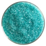 0.5kg Bullseye Medium Frit - 90 Coe - Light Aqua Blue Transparent