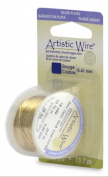 Artistic Wire 24S Gauge Wire, Gold Colour, 10-Yard