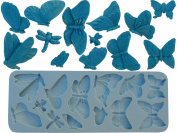 silicone Moulds butterfly series 13 pc decorating fondant crafts supply M4976 By Ok Moulds