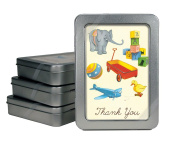 Cavallini 10-Pack Toys Thank You Notes with Envelopes
