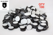 100 pcs Small Round Flexible DIY Pin Cushion Magnet Discs Arts and Crafts