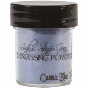 Lindy's Stamp Gang 2-Tone Embossing Powder, 15ml Jar, Cosmic Blue Violet