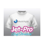 JET-PRO®SS JETPRO SOFSTRETCH HEAT TRANSFER PAPER 22cm X 28cm CUSTOM PACK 250 SHEETS