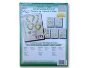 1003 Leaves Leaf Greenery One Stroke Reusable Painting Teaching Guide Worksheet Pack