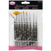 Weber 9-Piece Donna Dewberry Brush Set, Mini