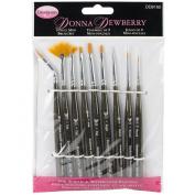 Weber 9-Piece Donna Dewberry Brush Set, Mini