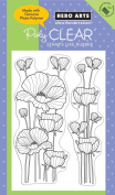 Hero Arts Delicate Blossoms Polyclear Stamp Set