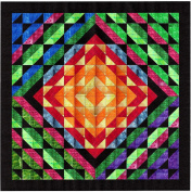 Easy Quilt Kit Dreamscape/Tye dye/Batik Tonals