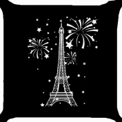 cushion cover throw pillow case 46cm Paris Eiffel Tower tourist landmark summer holiday both sides image zipper