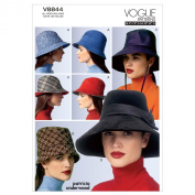 VOGUE PATTERNS V8844OSZ Hat Sewing Pattern, All Sizes