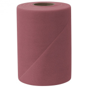 Falk Fabrics Tulle Spool, 15cm by 100-Yard, Dusty Rose