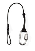 Camera Strap Tether from Indigo Marble - Strong Black Safety Tether for Your DSLR Camera. Will Work With any Camera Strap or Sling that is Less than 3.8cm wide