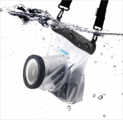 Zonman® Transparent Clear Dslr SLR Camera Waterproof Underwater Housing Case Pouch Dry Bag for Canon Nikon Sony