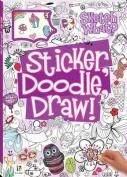 Sticker, Doodle, Draw! Purple