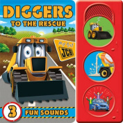 Diggers to the Rescue [Board book]