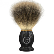 Shaving Brush By Apollo, 100% Pure Badger Bristle Will Fit the Apollo Stand and Is a Great Addition to Your Vet Shaving Set/kit. Works up a Great Lather From Your Soap/ Cream/ Butter to Ensure a Great Shave with Your Double Edge Safety Razor. Great Gif ..