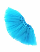 FuzzyGreen®Adorable Baby Toddlers Girls' Sky Blue Ballet Tutu Skirt+Gift