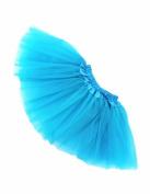FuzzyGreen®Adorable Baby Toddlers Girls' Sky Blue Ballet Tutu Skirt+Gift