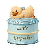 Russ Berrie Keepsake Box, Blue