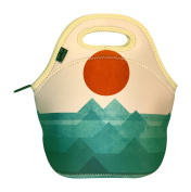 Neoprene Lunch Tote By Art of Lunch - With Design By Budi Satria Kwan (Indonesia) - Designer Neoprene Lunch Bag Created Through a Partnership with Artists Around the World