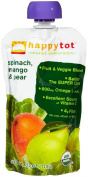 Happy Family happy tot Purees - Spinach Mango & Pear - 120ml - 8 pk