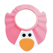 Baby Adjustable Durable Shower Shield Bath Visor - BPA Free