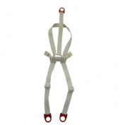Fisher Price Rainforest High Chair Replacement Harness Seat Belt Restraint Cream Colour