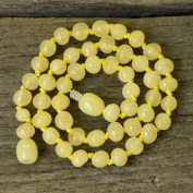 Baby Necklace for Teething From Baltic Amber - Royal Butter Amber - Best Amber Quality