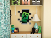 Minecraft Creeper Inside Wall Decal/Cling