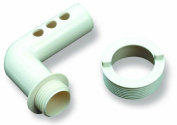 Hydro Tools 8584 Pool Fountain Elbow and Collar Replacement Set