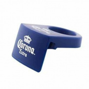 Coronarita Drink Clips Schooner and Goblet Style Glasses- Includes a Bonus Free Corona Bottle Opener - Pack of 6