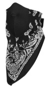ZANheadgear NeoDanna Paisley 100 Percentage Cotton Bandanna with Neoprene Face Mask