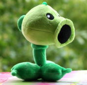 Plants Vs Zombies Garden Warfare Plush Toy Pea Shooter PVZ Soft Doll