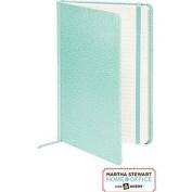 Martha Stewart Home Office with Avery® Premium Shagreen Journal, 14cm x 22cm , Blue
