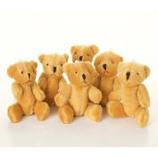 NEW Cute And Cuddly Little BROWN Teddy Bear X 10 - Gift Present Birthday Xmas