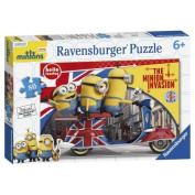 British Invasion 80pc Minions Jigsaw Puzzle