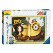Fire Friend or Foe 500pc Minions Jigsaw Puzzle
