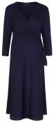 Mirage Labour Wrap / Wrap Dress in Navy (Large