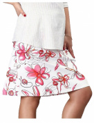 Pink Pixie A-Line Floral Print Over Bump Maternity Pregnancy Skirt Fresh