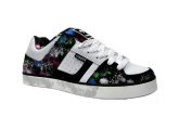 Osiris Skate Shoes -- Libra Girls-- White/Black/Kitty K Murray