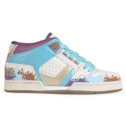 Osiris Skateboard Shoes --South Bronx Girls- Tan/Multi/Ellis