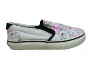 Osiris Skateboard Shoes Slip On Scoop Girls White/ Pink /Black