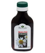 Cosmetic Camomile Oil, Face Body Skin Massage Wounds Burns Hair Loss 100ml.