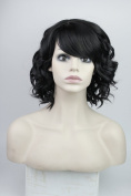 Short Curly Wavy Party Cosplay Christmas Halloween Wig