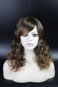 Long Curly Wavy Party Cosplay Christmas Halloween Wig